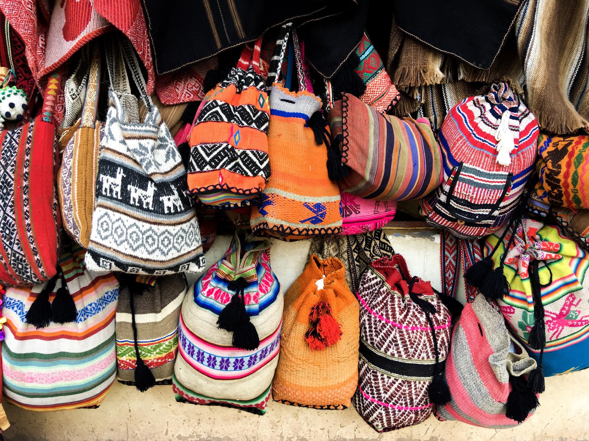 Borse fatte a mano-Cusco