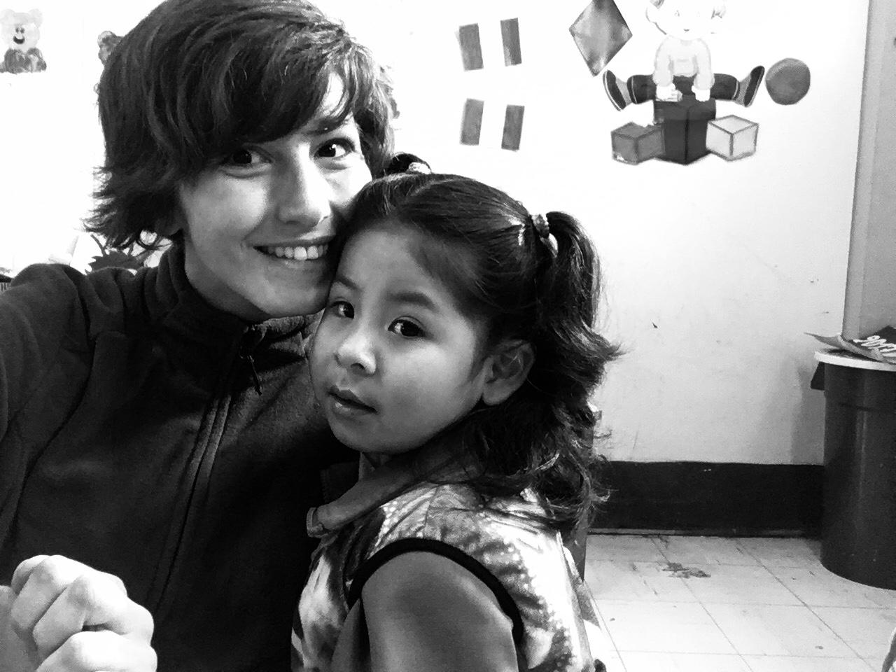 Alunna e insegnante