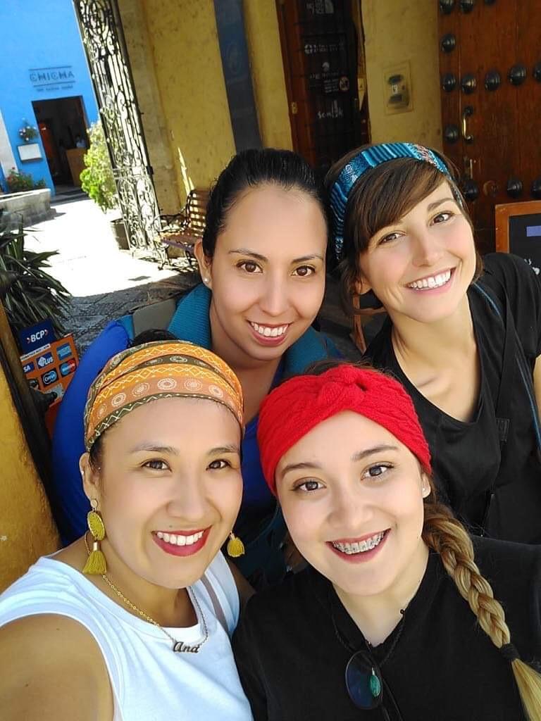 Gelato con amiche messicane