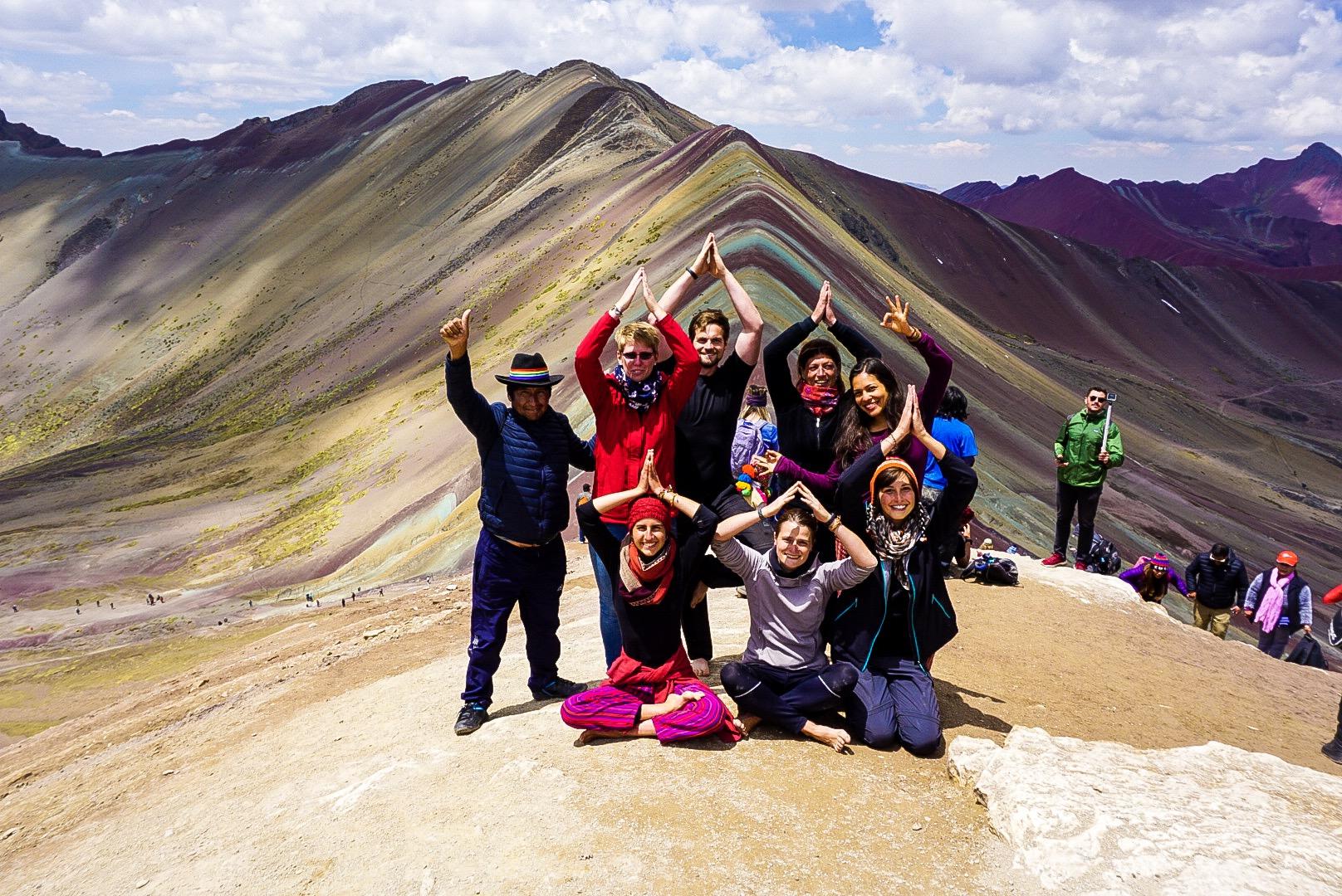 Rainbiw Mountain Peru