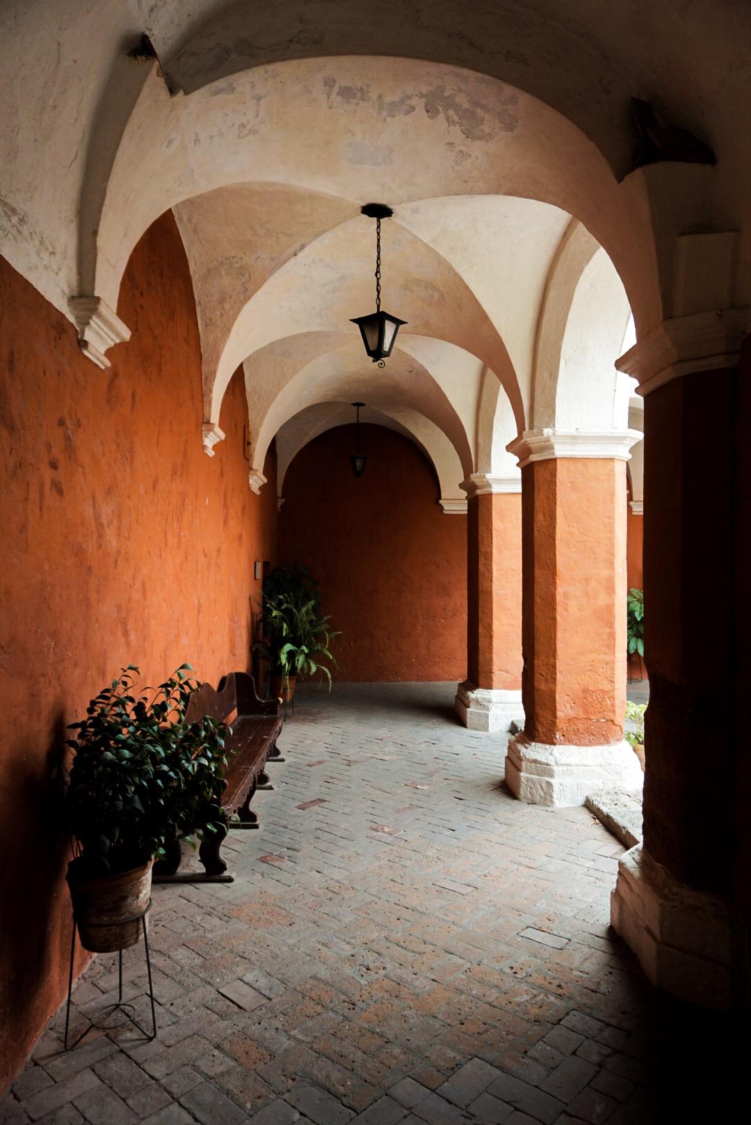 Cortile Monastero di Santa Catalina