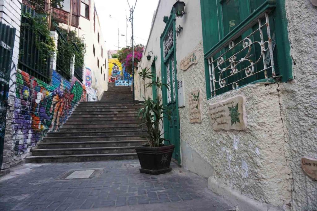 graffiti a Lima