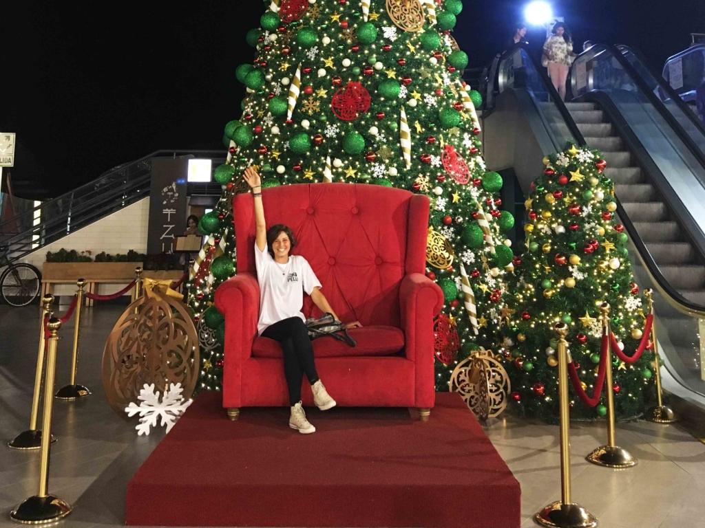 albero di natale a Lima