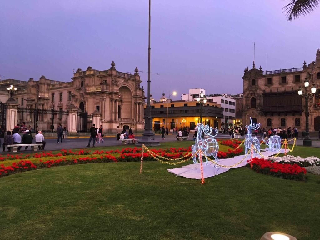 cattedrale di Lima a Natale